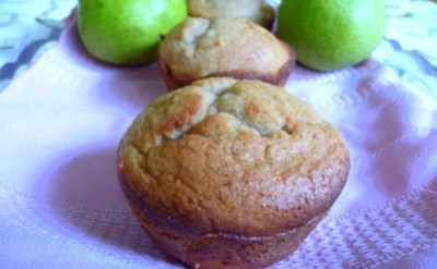 Pear Flax Seed Muffins