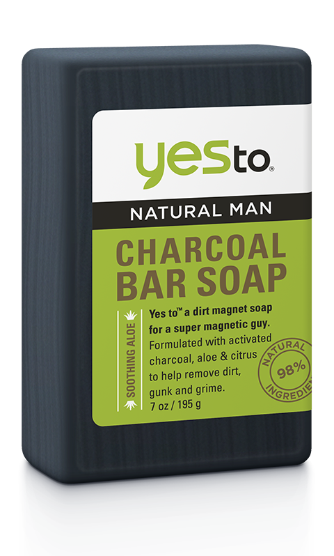 Yes To Natural Man Charcoal Soap