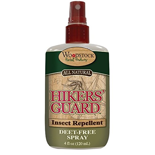 Woodstock Herbals Hikers Guard Insect Repellant Spray
