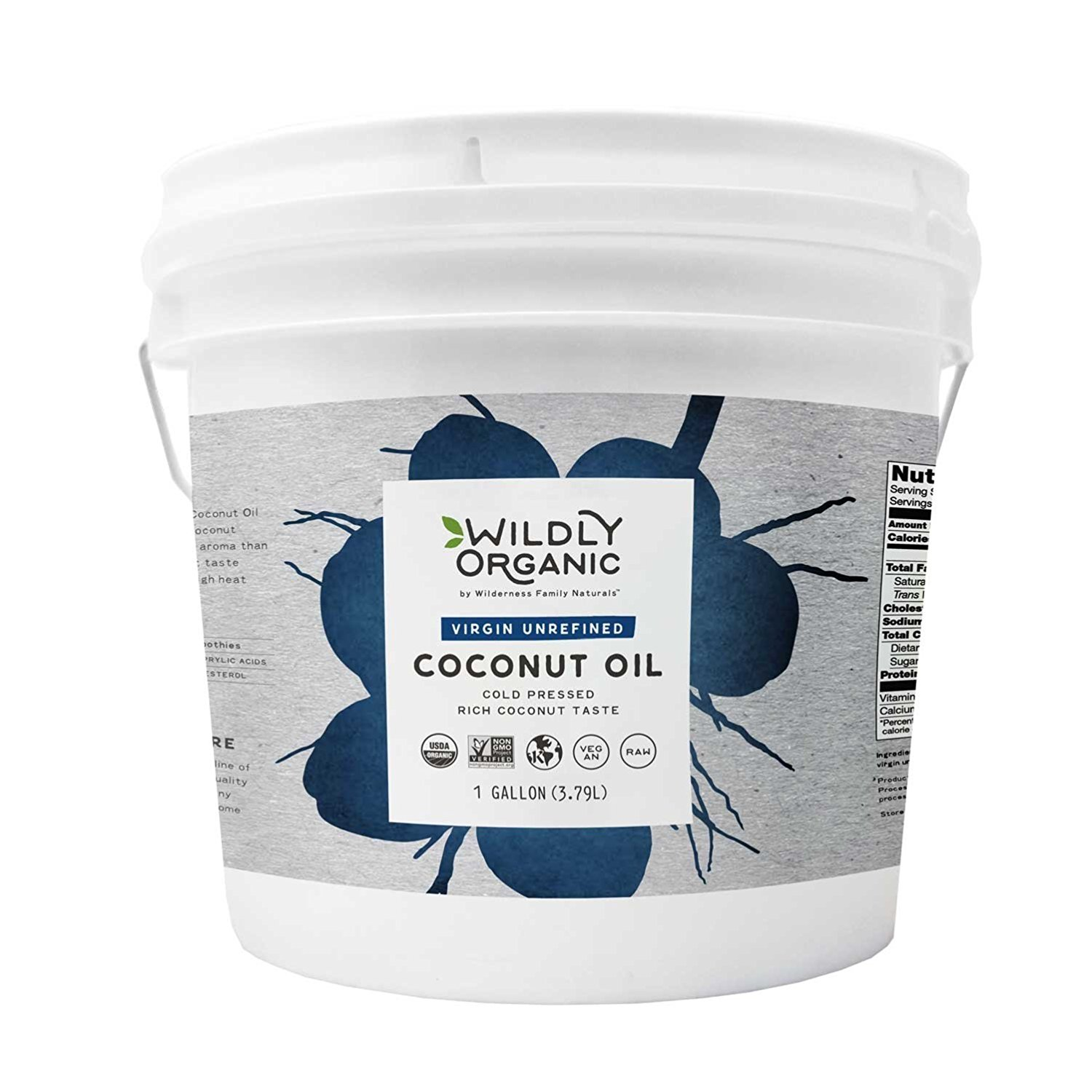Buying coconut oil in bulk is wise when you use it for everything!