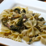RECIPE: Farfalle with Shallots and Chard