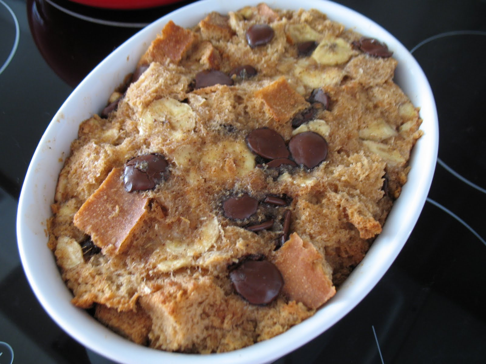 Banana Bread Pudding Chocolate Banana Bread Pudding