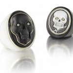 Hand-Carved Cameo Skull Jewelry