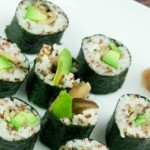 Rice & Red Quinoa Sushi