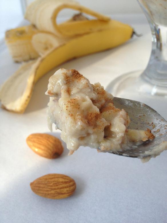 raw banana pudding