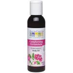 Comforting Geranium Body Oil, $8.15 @auracacia.com