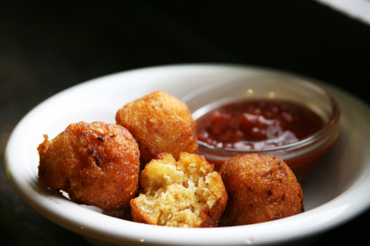 vegan gluten-free hushpuppies