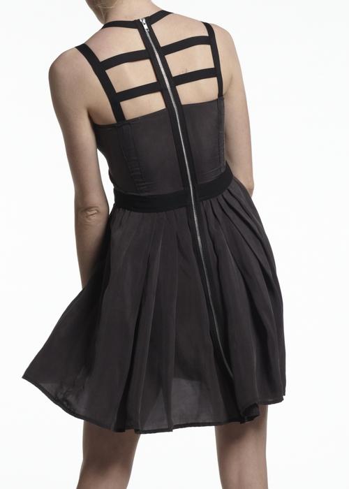 Daniel Silverstein Zero Waste heron dress, $410 @danielsilverstein.us