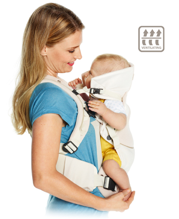 Stokke® MyCarrier™ Cool The breathable 3 in 1 baby carrier, $219.99 @stokke.com