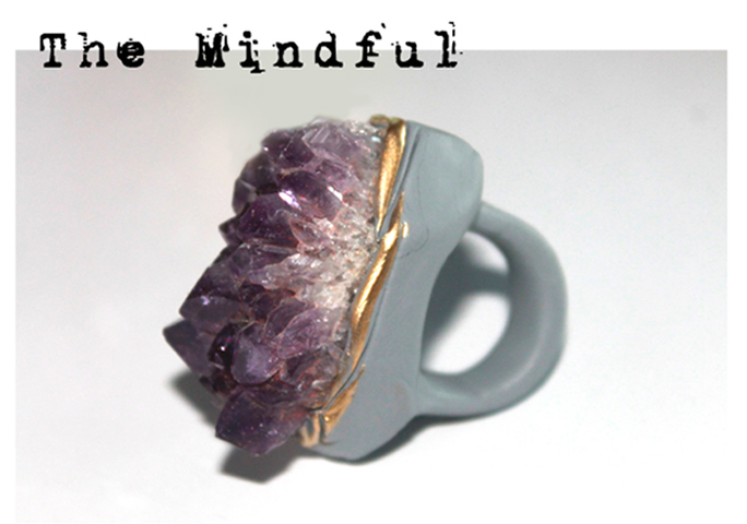 The Mindful Ring by Adina Mills, $140 @adinamills.com