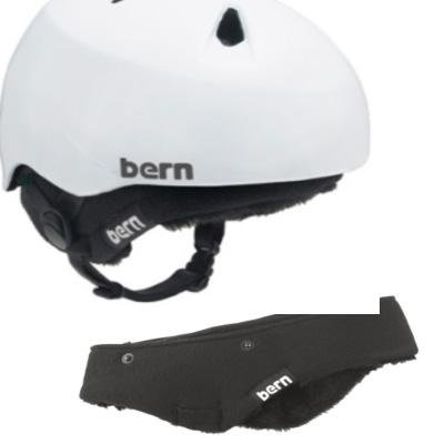 Insulated hat inside a helmet to keep little heads warm during winter from Bern, $39.99 @amazon.com