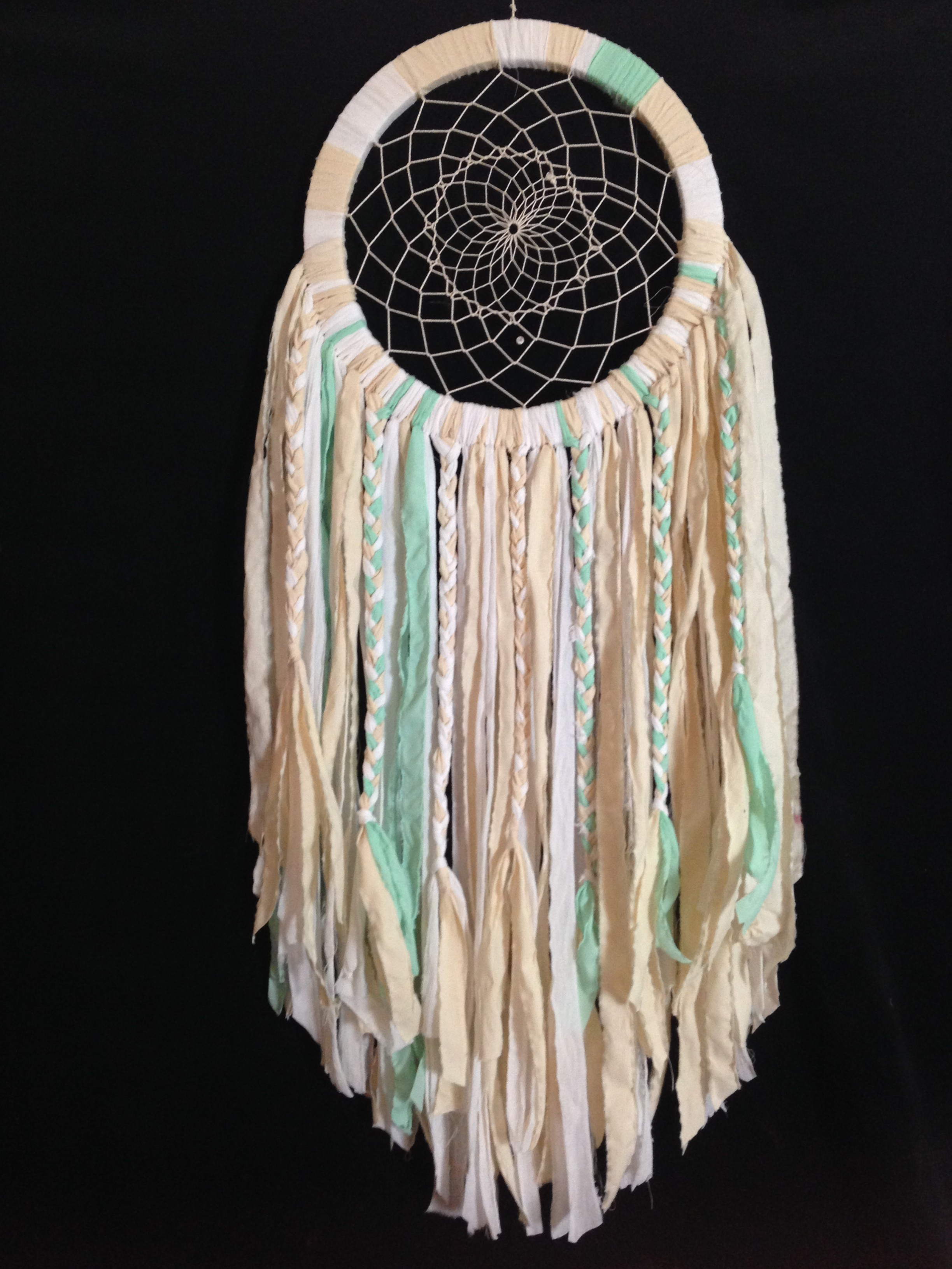 spoke woven dream catchers (custom/vegan)