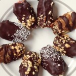 Raw Chocolate Vegan Candy Apple Wedges