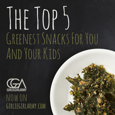 The Top 5 Greenest And Healthiest Snacks
