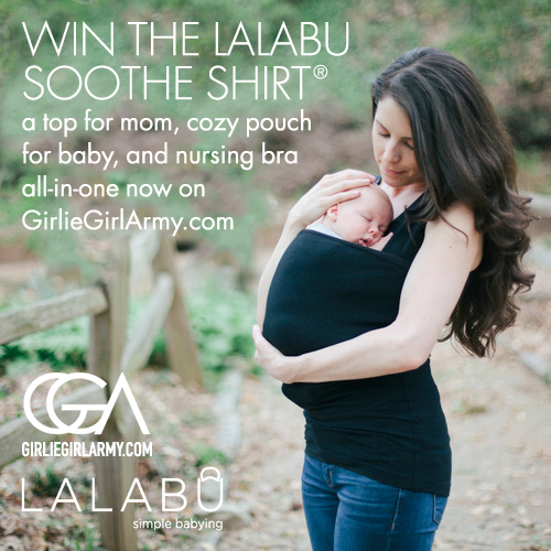Win This Lalabu Carrier/Shirt/Nursing Bra On GirlieGirlArmy.com