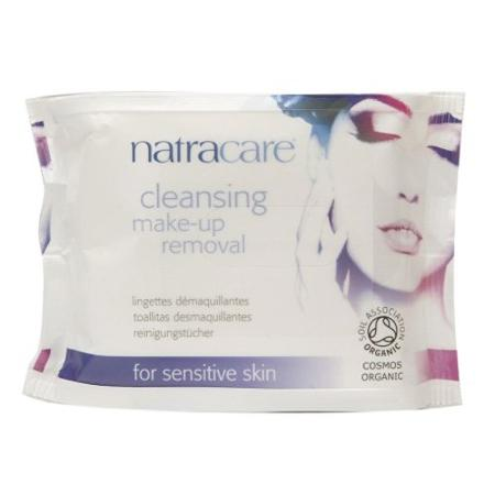 Natracare Organic Make up Wipes, $11 @amazon.com