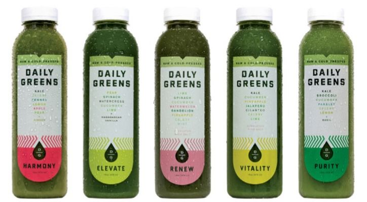 Daily Greens Juices have the most outrageous flavor combos we've ever tried!