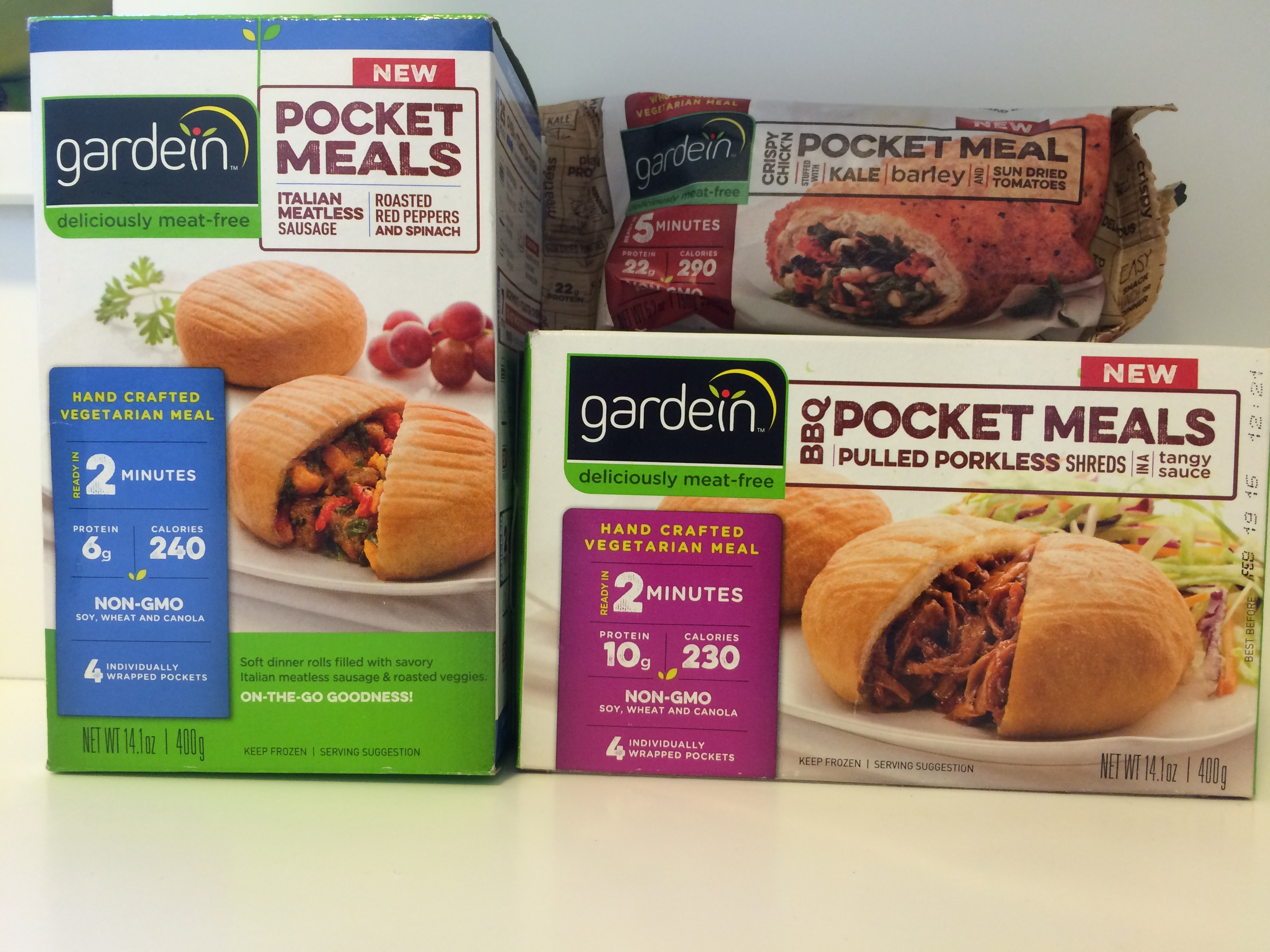 Gardein Pocket Meals