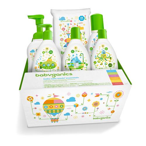Babyganics-Baby-Safe-World-Essentials,  $27.99 @toysrus.com
