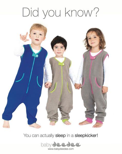 baby deedee sleep kicker, $41 @babydeedee.com