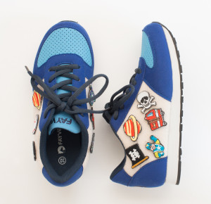 Fayvel Vegan Kids Sneakers With Customizable Patch, $29 @Fayvelwear.com