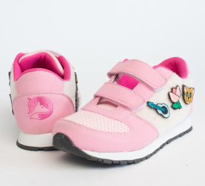 Fayvel Vegan Kids Sneakers With Customizable Patches