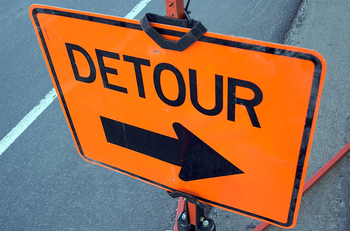How To Handle Life's Detours