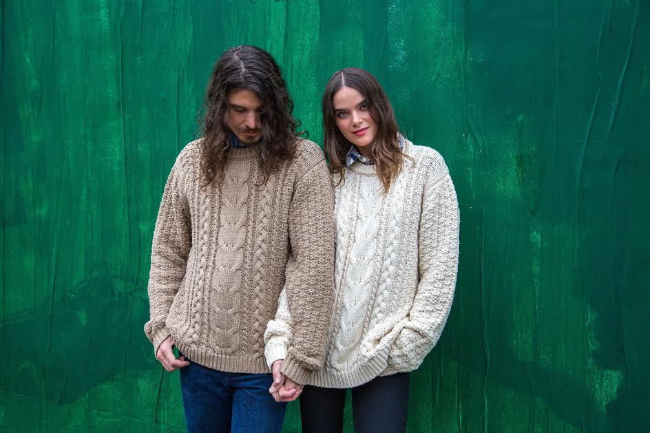 VAUTE Vegan Aran Sweater - Ivory , $292.50
