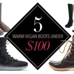 5 Warm Vegan Boots Under $100