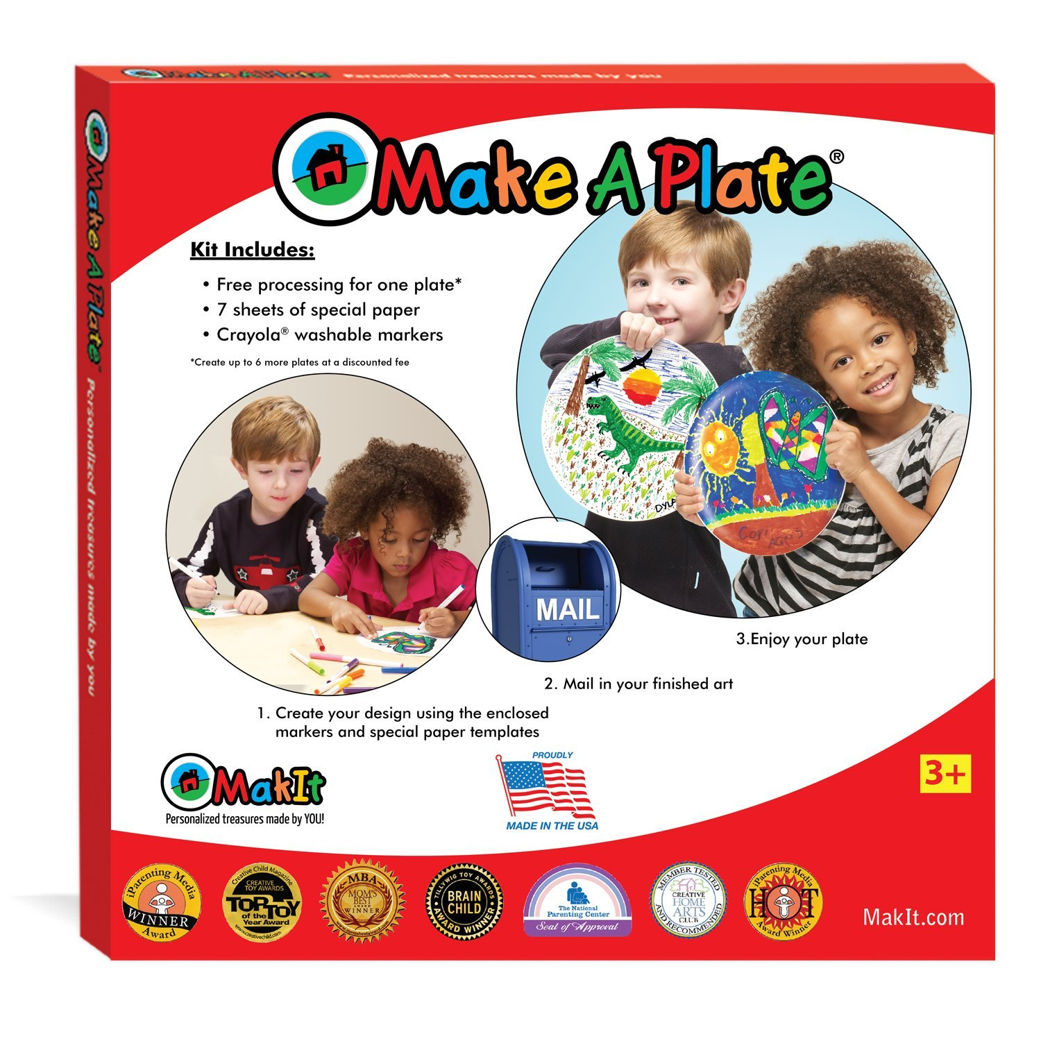 Make Your Own Plate Kit, $10.49