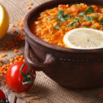 Slow Cooked Red Lentil & Chickpea Curry (Vegan, Gluten Free)