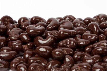 SunRidge Farms Fair Trade Certified Cocoa Dark Chocolate Cashews, $110