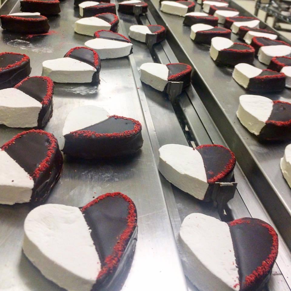Sweet & Sara Vegan Marshmallow and Chocolate Hearts, $4.49 each