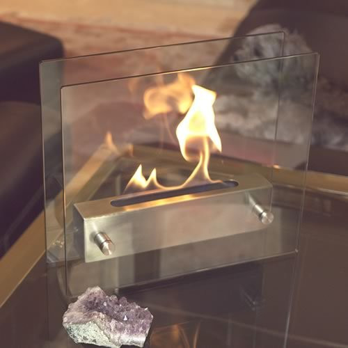 Nu-Flame Irradia Tabletop Fire Place. $110