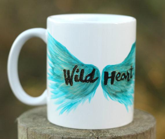 Wild Heart Mug, $20