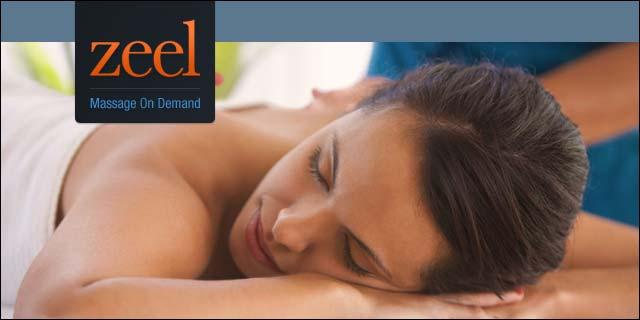 zeel massage on demand app (get $25 off when you use code 5v0o)