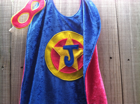 The Tree House Kid Eco-Felt Customiazable Capes On Etsy