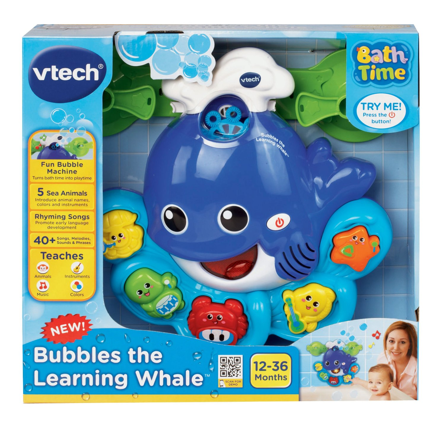 Bubbles the Learning Whale