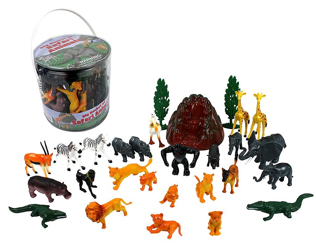 Bucket Of Animals