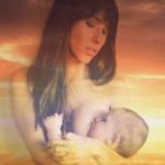 Artist India Evans Created Ethereal Breastfeeding Portrait Series