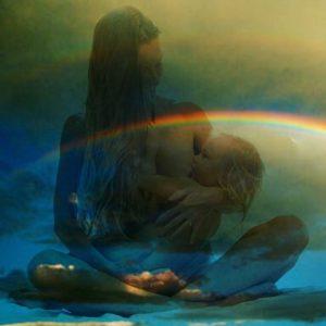 India Evans Breastfeeding Portrait Series