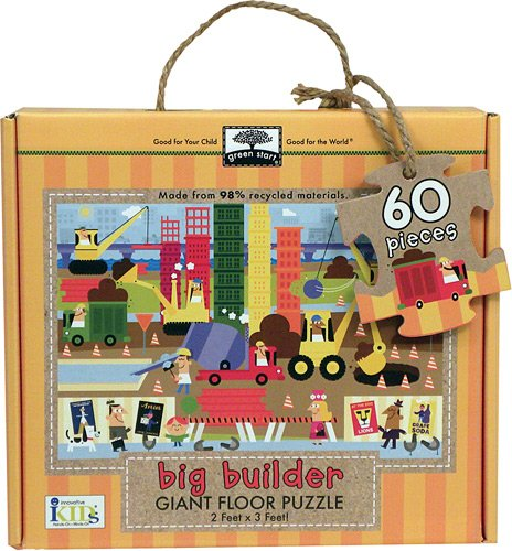 Innovative Kids Green Start Giant Floor Big Builder Puzzles