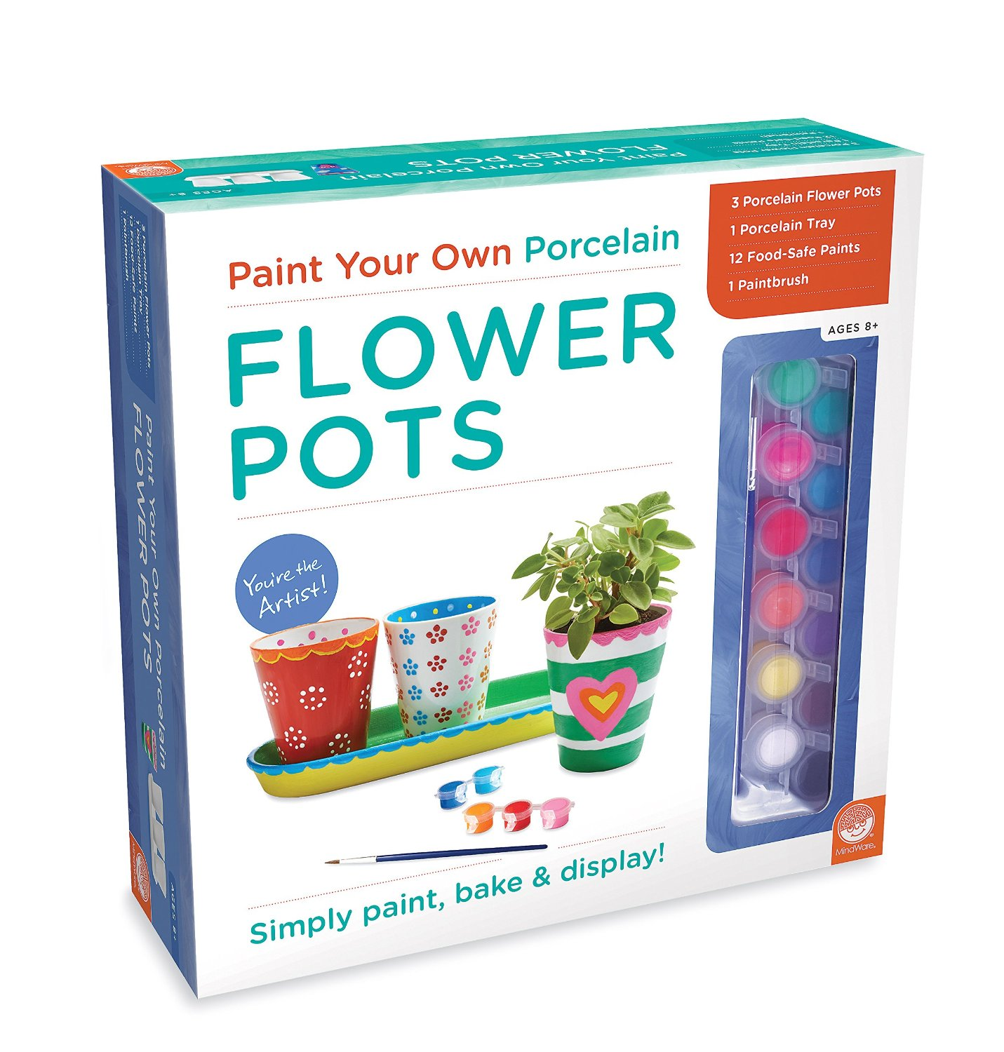 Paint Your Own FlowerPots