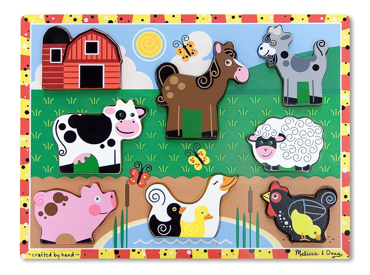 Melissa and Doug Wooden Puzzle (under age 2)
