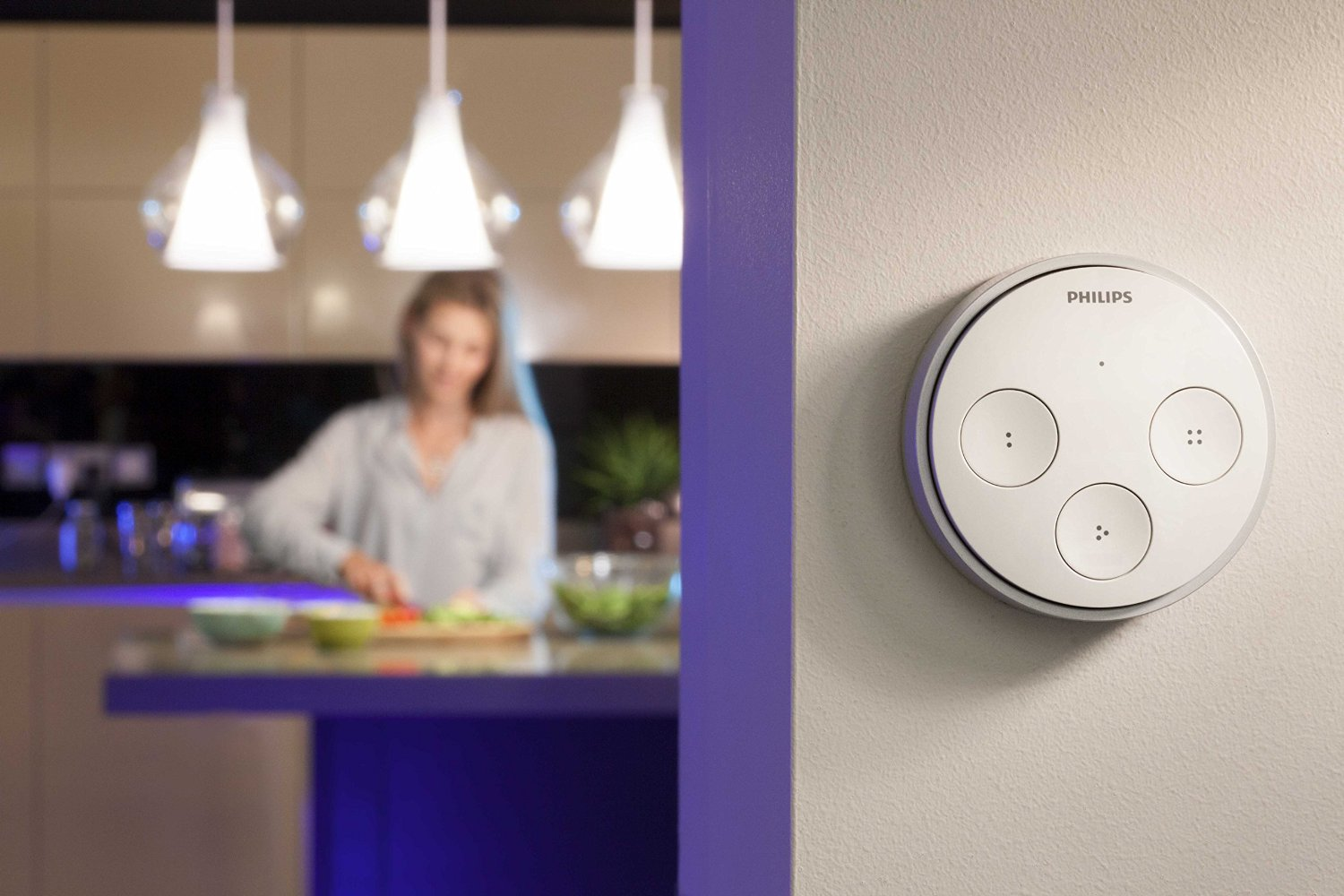 Philips 452532 Personal Wireless Lighting Hue Tap Switch, $49