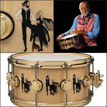 """Mick Fleetwood iconic """"Rumours"""" Drum Collection to benefit endangered species"""