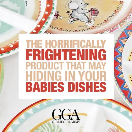 The Horrifically Frightening Product That May Be Hiding In Your Baby Dishes