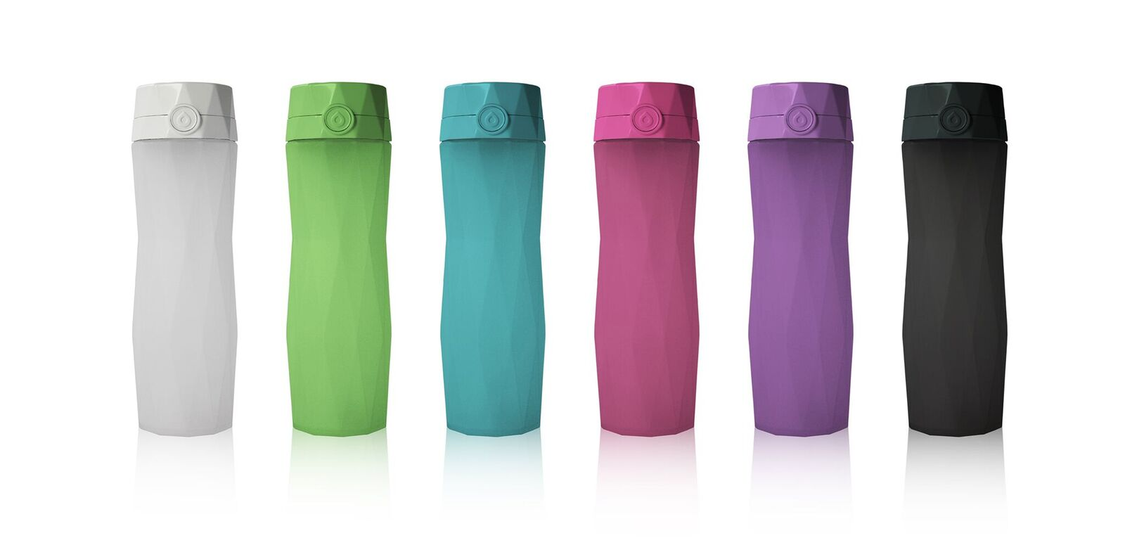 brighter glow, enhanced tracking, stronger connection, faster syncing and even more new app features. This is the second generation of our smart water bottle that syncs with an app on your phone to track your water intake and glows to remind you to drink. Cleverly written notifications will help you reach your recommended daily water goal based on your personal parameters, location, and activity. Sync Hidrate Spark with your favorite health apps to see a complete picture of your health.