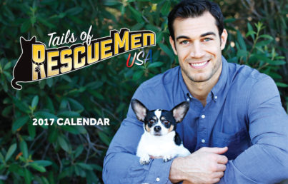 Hot Humanitarians and Soft-Hearted Studs Launch Calendar Featuring Rescued Pets