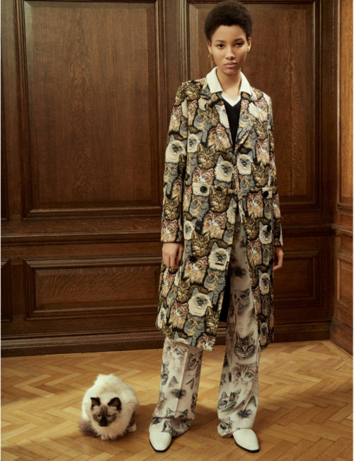 Stella McCartney Cat Print pieces, @stellamccartney.com